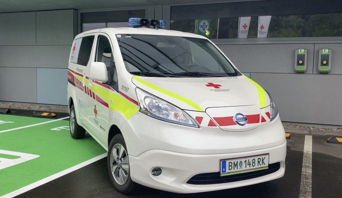 Bruck/Mur: Krankentransport im Elektro-Bus