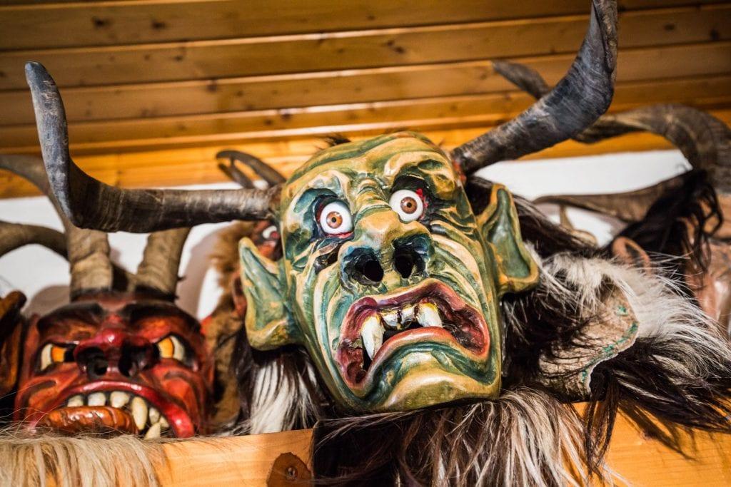 Krampus Maske Sabine Hoffmann