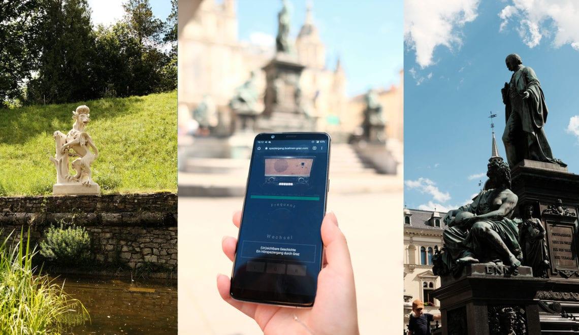 SteierMag-Empfehlung: '(Un)sichtbare Geschichte. Ein Hörspaziergang durch Graz'