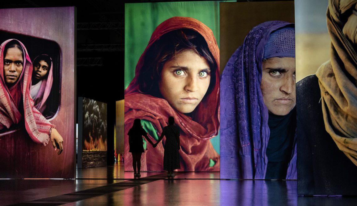 Die sensationelle Fotoausstellung von Steve McCurry geht ins Finale