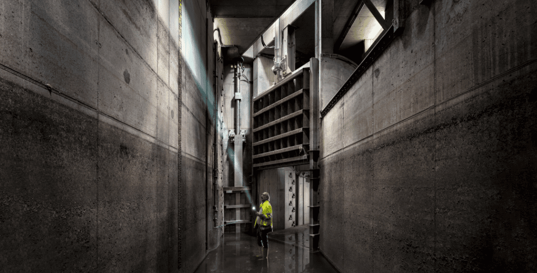 Bau abgeschlossen: Der Zentrale Speicherkanal ist im technischen Probebetrieb